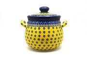 Ceramika Artystyczna Polish Pottery Cookie Jar - 7 cups - Sunburst 172-859a (Ceramika Artystyczna)