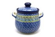 Ceramika Artystyczna Polish Pottery Cookie Jar - 7 cups - Tranquility 172-1858a (Ceramika Artystyczna)