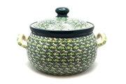 Ceramika Artystyczna Polish Pottery Covered Tureen (without ladle slot) - Irish Meadow 090-1888q (Ceramika Artystyczna)