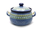 Ceramika Artystyczna Polish Pottery Covered Tureen (without ladle slot) - Tranquility 090-1858a (Ceramika Artystyczna)