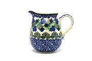 Ceramika Artystyczna Polish Pottery Creamer - 10 oz. - Huckleberry B84-1413a (Ceramika Artystyczna)