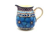 Ceramika Artystyczna Polish Pottery Creamer - 10 oz. - Unikat Signature U408C B84-U408C (Ceramika Artystyczna)
