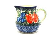 Ceramika Artystyczna Polish Pottery Creamer - 4 oz. - Unikat Signature U3516 091-U3516 (Ceramika Artystyczna)