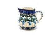 Ceramika Artystyczna Polish Pottery Creamer - 4 oz. - Wisteria 091-1473a (Ceramika Artystyczna)