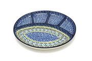 Ceramika Artystyczna Polish Pottery Dish - Divided Appetizer - Tranquililty 498-1858a (Ceramika Artystyczna)