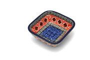 Ceramika Artystyczna Polish Pottery Dish - Food Prep - Aztec Sun 656-1350a (Ceramika Artystyczna)