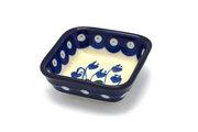 Ceramika Artystyczna Polish Pottery Dish - Food Prep - Bleeding Heart 656-377o (Ceramika Artystyczna)