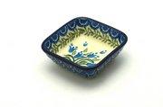 Ceramika Artystyczna Polish Pottery Dish - Food Prep - Blue Bells 656-1432a (Ceramika Artystyczna)