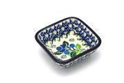 Ceramika Artystyczna Polish Pottery Dish - Food Prep - Blue Berries 656-1416a (Ceramika Artystyczna)