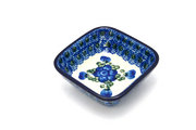 Ceramika Artystyczna Polish Pottery Dish - Food Prep - Blue Poppy 656-163a (Ceramika Artystyczna)