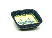 Ceramika Artystyczna Polish Pottery Dish - Food Prep - Blue Spring Daisy 656-614a (Ceramika Artystyczna)