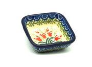 Ceramika Artystyczna Polish Pottery Dish - Food Prep - Crimson Bells 656-1437a (Ceramika Artystyczna)