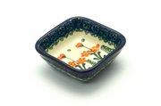 Ceramika Artystyczna Polish Pottery Dish - Food Prep - Peach Spring Daisy 656-560a (Ceramika Artystyczna)