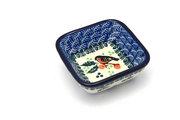 Ceramika Artystyczna Polish Pottery Dish - Food Prep - Red Robin 656-1257a (Ceramika Artystyczna)
