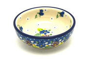Ceramika Artystyczna Polish Pottery Dish - Round Food Prep - Plum Luck B88-2509a (Ceramika Artystyczna)