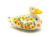Ceramika Artystyczna Polish Pottery Duck Figurine - Buttercup A46-2225a (Ceramika Artystyczna)