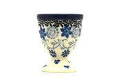 Ceramika Artystyczna Polish Pottery Egg Cup - Silver Lace 106-2158a (Ceramika Artystyczna)