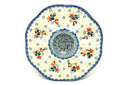 Ceramika Artystyczna Polish Pottery Egg Plate - 8 Count - Cherry Blossom A24-2103a (Ceramika Artystyczna)