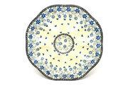 Ceramika Artystyczna Polish Pottery Egg Plate - 8 Count - Silver Lace A24-2158a (Ceramika Artystyczna)