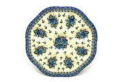 Ceramika Artystyczna Polish Pottery Egg Plate - 8 Count - Winter Viola A24-2273a (Ceramika Artystyczna)