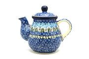 Ceramika Artystyczna Polish Pottery Gooseneck Teapot - 20 oz. - Antique Rose 119-1390a (Ceramika Artystyczna)