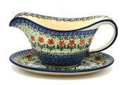 Ceramika Artystyczna Polish Pottery Gravy Boat - Maraschino 239-1916a (Ceramika Artystyczna)