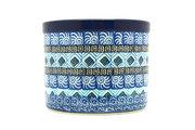 Ceramika Artystyczna Polish Pottery Herb Pot - Aztec Sky D52-1917a (Ceramika Artystyczna)