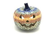 Ceramika Artystyczna Polish Pottery Jack-o-lantern - Small - Autumn D41-050a (Ceramika Artystyczna)