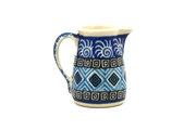 Ceramika Artystyczna Polish Pottery Miniature Pitcher - Aztec Sky 315-1917a (Ceramika Artystyczna)