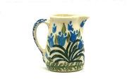 Ceramika Artystyczna Polish Pottery Miniature Pitcher - Blue Bells 315-1432a (Ceramika Artystyczna)