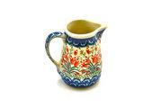 Ceramika Artystyczna Polish Pottery Miniature Pitcher - Crimson Bells 315-1437a (Ceramika Artystyczna)