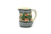 Ceramika Artystyczna Polish Pottery Miniature Pitcher - Holly Berry 315-1734a (Ceramika Artystyczna)