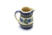 Ceramika Artystyczna Polish Pottery Miniature Pitcher - Morning Glory 315-1915a (Ceramika Artystyczna)