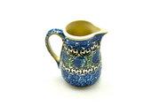 Ceramika Artystyczna Polish Pottery Miniature Pitcher - Peacock Feather 315-1513a (Ceramika Artystyczna)
