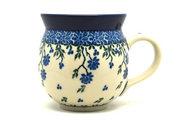 Ceramika Artystyczna Polish Pottery Mug - 11 oz. Bubble - Blue Clover 070-1978a (Ceramika Artystyczna)
