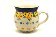 Ceramika Artystyczna Polish Pottery Mug - 11 oz. Bubble - Buttercup 070-2225a (Ceramika Artystyczna)