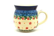 Ceramika Artystyczna Polish Pottery Mug - 11 oz. Bubble - Cherry Jubilee 070-2284a (Ceramika Artystyczna)
