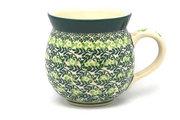 Ceramika Artystyczna Polish Pottery Mug - 11 oz. Bubble - Irish Meadow 070-1888q (Ceramika Artystyczna)