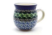 Ceramika Artystyczna Polish Pottery Mug - 11 oz. Bubble - Kiwi 070-1479a (Ceramika Artystyczna)