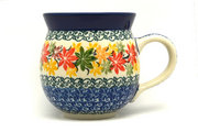 Ceramika Artystyczna Polish Pottery Mug - 11 oz. Bubble - Maple Harvest 070-2533a (Ceramika Artystyczna)