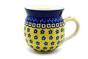 Ceramika Artystyczna Polish Pottery Mug - 11 oz. Bubble - Sunburst 070-859a (Ceramika Artystyczna)