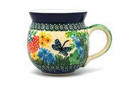 Ceramika Artystyczna Polish Pottery Mug - 11 oz. Bubble - Unikat Signature U4612 070-U4612 (Ceramika Artystyczna)