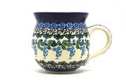 Ceramika Artystyczna Polish Pottery Mug - 11 oz. Bubble - Wisteria 070-1473a (Ceramika Artystyczna)