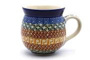 Ceramika Artystyczna Polish Pottery Mug - 15 oz. Bubble - Autumn 073-050a (Ceramika Artystyczna)