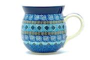 Ceramika Artystyczna Polish Pottery Mug - 15 oz. Bubble - Aztec Sky 073-1917a (Ceramika Artystyczna)