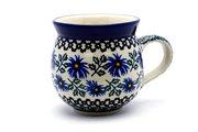 Ceramika Artystyczna Polish Pottery Mug - 15 oz. Bubble - Blue Chicory 073-976a (Ceramika Artystyczna)