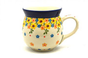 Ceramika Artystyczna Polish Pottery Mug - 15 oz. Bubble - Buttercup 073-2225a (Ceramika Artystyczna)