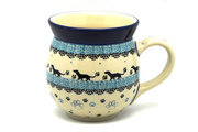 Ceramika Artystyczna Polish Pottery Mug - 15 oz. Bubble - Diggity Dog 073-2152a (Ceramika Artystyczna)