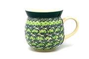 Ceramika Artystyczna Polish Pottery Mug - 15 oz. Bubble - Irish Meadow 073-1888q (Ceramika Artystyczna)