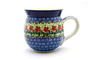 Ceramika Artystyczna Polish Pottery Mug - 15 oz. Bubble - Maraschino 073-1916a (Ceramika Artystyczna)